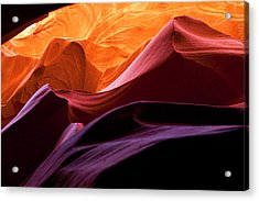 Acrylic Print featuring the photograph Hyper Slot by Gregory Scott