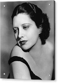 I Found Stella Parish, Kay Francis, 1935 Acrylic Print by Everett