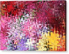 Imagine The Possibilities Acrylic Print by Carol Groenen