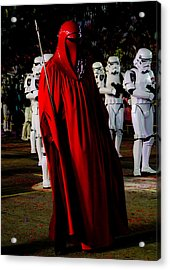 Imperial Red Guard Acrylic Print