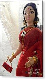 India Doll Acrylic Print