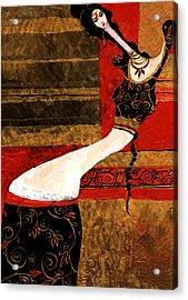 India Acrylic Print by Maya Manolova