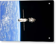 International Space Station In 1999 Acrylic Print by Everett