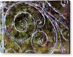 Iron Gate Acrylic Print by Donna Bentley