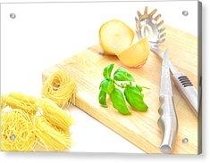 Italian Food Acrylic Print by Tom Gowanlock