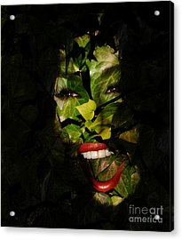 Acrylic Print featuring the photograph Ivy Glamour by Clayton Bruster