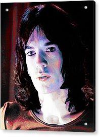 Jagger Acrylic Print by Stephen Walker