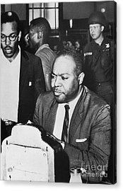 James Farmer (1920-1999) Acrylic Print by Granger