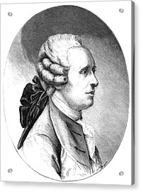 Jean D'alembert, French Mathematician Acrylic Print by