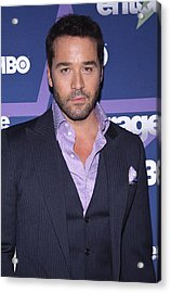 Jeremy Piven At Arrivals For Entourage Acrylic Print by Everett