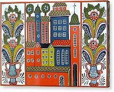 Jerusalem Acrylic Print by Leif Sodergren