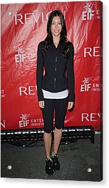Jessica Biel At A Public Appearance Acrylic Print by Everett