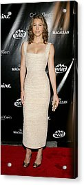 Jessica Biel At Arrivals For Esquire Acrylic Print by Everett