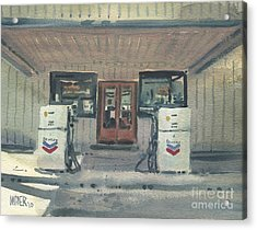 Jimtown Store Acrylic Print by Donald Maier