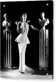 Joan Crawford, Ca. 1930s Acrylic Print by Everett
