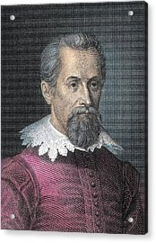 Johannes Kepler, German Astronomer Acrylic Print by Detlev Van Ravenswaay
