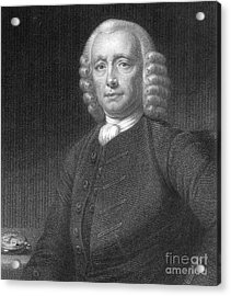 John Harrison, English Inventor Acrylic Print by Photo Researchers