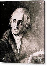 John James Audubon, French-american Acrylic Print by Science Source