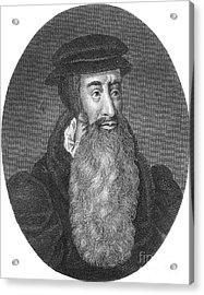 John Knox, Scottish Protestant Acrylic Print by Photo Researchers