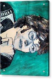John Lennon Acrylic Print by Julie Butterworth