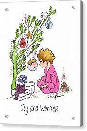 Joy And Wonder Acrylic Print