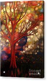 Joy Acrylic Print by Monica Furlow