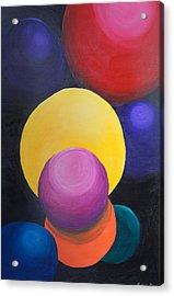 Juggling Balls Acrylic Print