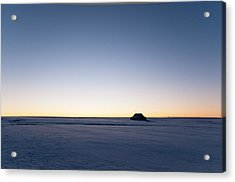 Acrylic Print featuring the photograph Just Before Sunrise by Monte Stevens