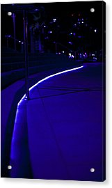 Just Blue Acrylic Print by Tal Richter