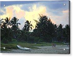 Kailua Beach Sunset Acrylic Print