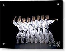 Karate Expert Acrylic Print by Ted Kinsman