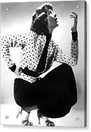 Katharine Hepburn, 1930s Acrylic Print by Everett