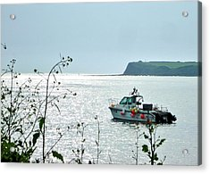 Acrylic Print featuring the photograph Kimmeridge by Katy Mei