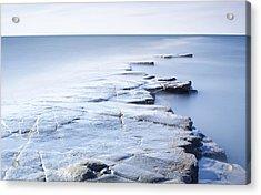 Kimmeridge Bay Acrylic Print by Brian Lawrence