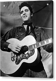 King Creole, Elvis Presley, 1958 Acrylic Print by Everett