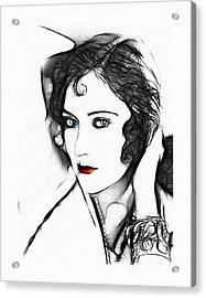 Kiss Me  Acrylic Print by Steve K