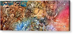 Knights Acrylic Print by Svetlana and Sabir Gadghievs