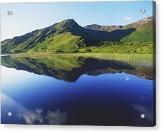 Kylemore Lake, Co Galway, Ireland Lake Acrylic Print by The Irish Image Collection