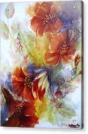 La Bignonia Rossa Acrylic Print
