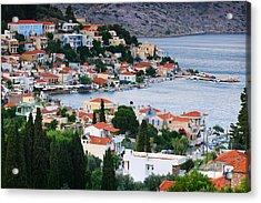 Lagada. Chios Greece  Acrylic Print