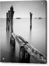 Laguna Veneto Acrylic Print by Nina Papiorek