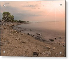 Lake Erie Sunset Acrylic Print