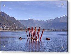 Lake Maggiore Locarno Acrylic Print