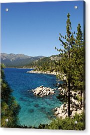 Lake Tahoe Shoreline Acrylic Print by Scott McGuire