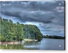 Lakeside Acrylic Print by Barry Jones