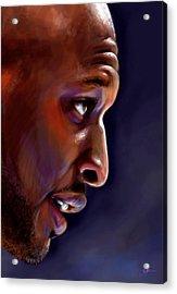 Lamar Acrylic Print by Jack Perkins