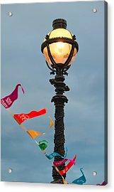 Lamp Light Acrylic Print by Shirley Mitchell