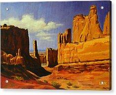 Lane Park  Utah Acrylic Print