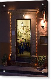Acrylic Print featuring the photograph Las Cruces by Lynn Palmer