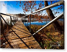 Acrylic Print featuring the photograph Let's Go Fishing by Lawrence Burry
